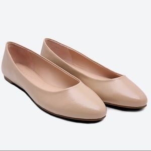 Kelly and Katie Decotis Flat Nude Pointed toe 9.5